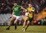 2 February 2019; Eoghan Ban Gallagher of Donegal and Ethan Devine of Meath during the Allianz Football League Division 2 Round 2 match between Donegal and Meath at MacCumhaill Park in Ballybofey, Donegal. Photo by Stephen McCarthy/Sportsfile