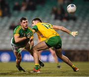 2 February 2019; Donal Keogan of Meath and Caolan McGonagle of Donegal during the Allianz Football League Division 2 Round 2 match between Donegal and Meath at MacCumhaill Park in Ballybofey, Donegal. Photo by Stephen McCarthy/Sportsfile