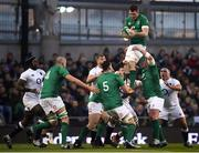 2 February 2019; Peter O'Mahony of Ireland wins possession from a lineout during the Guinness Six Nations Rugby Championship match between Ireland and England in the Aviva Stadium in Dublin. Photo by David Fitzgerald/Sportsfile
