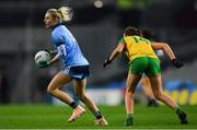2 February 2019; Nicole Owens of Dublin in action against Megan Ryan of Donegal during the Lidl Ladies NFL Division 1 Round 1 match between Dublin and Donegal at Croke Park in Dublin. Photo by Piaras Ó Mídheach/Sportsfile