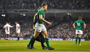 2 February 2019; Garry Ringrose of Ireland leaves the pitch in the closing stages of the Guinness Six Nations Rugby Championship match between Ireland and England in the Aviva Stadium in Dublin. Photo by Brendan Moran/Sportsfile