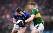 3 February 2019; Conor Madden of Cavan in action against Peter Crowley of Kerry during the Allianz Football League Division 1 Round 2 match between Cavan and Kerry at Kingspan Breffni in Cavan. Photo by Stephen McCarthy/Sportsfile
