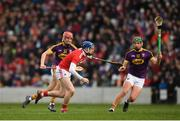 3 February 2019; Cormac Murphy of Cork in action against Paul Morris of Wexford during the Allianz Hurling League Division 1A Round 2 match between Cork and Wexford at Páirc Uí Chaoimh in Cork. Photo by Eóin Noonan/Sportsfile
