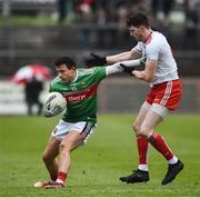 3 February 2019; Jason Doherty of Mayo in action against Rory Brennan of Tyrone during the Allianz Football League Division 1 Round 2 match between Tyrone and Mayo at Healy Park in Omagh, Tyrone. Photo by Oliver McVeigh/Sportsfile