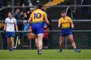 3 February 2019; Roscommon players Conor Cox, behind, and Shane Kiloran celebrate after the Allianz Football League Division 1 Round 2 match between Roscommon and Monaghan at Dr Hyde Park in Roscommon. Photo by Piaras Ó Mídheach/Sportsfile