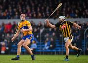 3 February 2019; Peter Duggan of Clare in action against Padraig Walsh of Kilkenny during the Allianz Hurling League Division 1A Round 2 match between Clare and Kilkenny at Cusack Park in Ennis, Co. Clare. Photo by Brendan Moran/Sportsfile