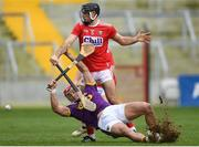 3 February 2019; Lee Chin of Wexford in action against Christopher Joyce of Cork during the Allianz Hurling League Division 1A Round 2 match between Cork and Wexford at Páirc Uí Chaoimh in Cork. Photo by Eóin Noonan/Sportsfile
