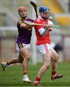 3 February 2019; Cormac Murphy of Cork in action against Lee Chin of Wexford during the Allianz Hurling League Division 1A Round 2 match between Cork and Wexford at Páirc Uí Chaoimh in Cork. Photo by Eóin Noonan/Sportsfile