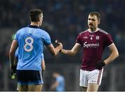2 February 2019; David Wynne of Galway, right, and Brian Fenton of Dublin during the Allianz Football League Division 1 Round 2 match between Dublin and Galway at Croke Park in Dublin. Photo by Harry Murphy/Sportsfile