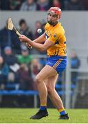 3 February 2019; Peter Duggan of Clare during the Allianz Hurling League Division 1A Round 2 match between Clare and Kilkenny at Cusack Park in Ennis, Co. Clare. Photo by Brendan Moran/Sportsfile