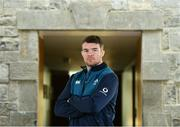 4 February 2019; Peter O'Mahony poses for a portrait following an Ireland Rugby press conference at Carton House in Maynooth, Co. Kildare. Photo by Ramsey Cardy/Sportsfile