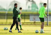 4 February 2019; Assistant manager Keith Andrews during a Republic of Ireland U21 training session at the FAI National Training Centre in Abbotstown, Dublin. Photo by Seb Daly/Sportsfile