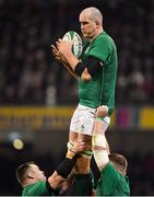 2 February 2019; Devin Toner of Ireland during the Guinness Six Nations Rugby Championship match between Ireland and England in the Aviva Stadium in Dublin. Photo by Brendan Moran/Sportsfile
