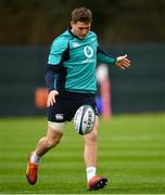 5 February 2019; Jordan Larmour during Ireland Rugby squad training at Carton House in Maynooth, Co. Kildare. Photo by Ramsey Cardy/Sportsfile