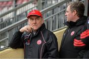 3 February 2019; Tyrone manager Mickey Harte before the Allianz Football League Division 1 Round 2 match between Tyrone and Mayo at Healy Park in Omagh, Tyrone. Photo by Oliver McVeigh/Sportsfile