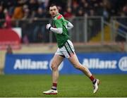3 February 2019; Keith Higgins of Mayo during the Allianz Football League Division 1 Round 2 match between Tyrone and Mayo at Healy Park in Omagh, Tyrone. Photo by Oliver McVeigh/Sportsfile