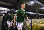 6 February 2019; Brandon Kavanagh of Republic of Ireland U21's during the friendly match between Republic of Ireland U21's Homebased Players and Republic of Ireland Amateur at Home Farm FC in Whitehall, Dublin. Photo by Stephen McCarthy/Sportsfile