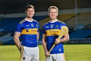 7 February 2019; Tipperary hurling captain Séamus Callanan and team-mate Noel McGrath during an event organised by Tipperary GAA sponsor Teneo at Semple Stadium in Thurles, Co Tipperary. Photo by Matt Browne/Sportsfile