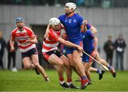 7 February 2019; Aaron Gillane of Mary Immaculate College in action against William Hurley of Cork IT during the Electric Ireland Fitzgibbon Cup Quarter Final match between Mary Immaculate College and Cork Institute of Technology at the MICL Grounds in Limerick. Photo by Eóin Noonan/Sportsfile