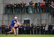 7 February 2019; Aaron Gillane of Mary Immaculate College shoots to score a point during the Electric Ireland Fitzgibbon Cup Quarter Final match between Mary Immaculate College and Cork Institute of Technology at the MICL Grounds in Limerick. Photo by Eóin Noonan/Sportsfile