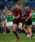 7 February 2019; Harry Rodgers of Kilkenny College during the Bank of Ireland Leinster Schools Junior Cup Round 1 match between Gonzaga College and Kilkenny College at Energia Park in Donnybrook, Dublin. Photo by Harry Murphy/Sportsfile