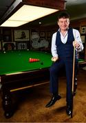 7 February 2019; Definitely not snookered! HireUp set to take on the world. The employee referral company was officially launched by snooker legends Jimmy White, pictured, and Ken Doherty, at the Radisson Blu St. Helen's Hotel in Booterstown, Dublin. Photo by Sam Barnes/Sportsfile