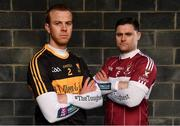 8 Febrary 2019; Dr Crokes' Fionn Fitzgerald, left, and Mullinalaghta St Columba's Shane Mulligan are pictured ahead of the AIB GAA All-Ireland Senior Football Club Championship Semi-Final taking place at Semple Stadium on Saturday, February 16th. Having extended their sponsorship of both Club and County for another five years in 2018, AIB is pleased to continue its sponsorship of the GAA Club Championships for a 29th consecutive year. For exclusive content and behind the scenes action throughout the AIB GAA & Camogie Club Championships follow AIB GAA on Facebook, Twitter, Instagram and Snapchat. Photo by Seb Daly/Sportsfile