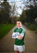 8 Febrary 2019; Kevin Cassidy, former Donegal and current Gaoth Dobhair footballer poses for a portrait ahead of their AIB GAA All-Ireland Senior Football Club Championship Semi-Final against Corofin taking place at Páirc Seán Mac Diarmada in Leitrim on Saturday, February 16th. Having extended their sponsorship of both Club and County for another five years in 2018, AIB is pleased to continue its sponsorship of the GAA Club Championships for a 29th consecutive year. For exclusive content and behind the scenes action throughout the AIB GAA & Camogie Club Championships follow AIB GAA on Facebook, Twitter, Instagram and Snapchat. Photo by David Fitzgerald/Sportsfile