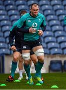 8 February 2019; Rhys Ruddock during the Ireland Rugby Captain's Run at BT Murrayfield Stadium in Edinburgh, Scotland. Photo by Brendan Moran/Sportsfile