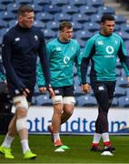 8 February 2019; Josh van der Flier during the Ireland Rugby Captain's Run at BT Murrayfield Stadium in Edinburgh, Scotland. Photo by Brendan Moran/Sportsfile