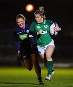 8 February 2019; Alison Miller of Ireland in action against Liz Musgrove of Scotland during the Women's Six Nations Rugby Championship match between Scotland and Ireland at Scotstoun Stadium in Glasgow, Scotland. Photo by Ramsey Cardy/Sportsfile