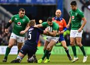 9 February 2019; Rob Kearney of Ireland is tackled by Jonny Gray of Scotland during the Guinness Six Nations Rugby Championship match between Scotland and Ireland at the BT Murrayfield Stadium in Edinburgh, Scotland. Photo by Ramsey Cardy/Sportsfile