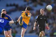 9 February 2019; Ciarán Kennedy of Beaufort shoots to score a point during the AIB GAA Football All-Ireland Junior Championship Final match between Beaufort and Easkey at Croke Park in Dublin. Photo by Piaras Ó Mídheach/Sportsfile