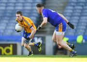9 February 2019; Ronan Ferris of Beaufort in action against John Feeney of Easkey during the AIB GAA Football All-Ireland Junior Championship Final match between Beaufort and Easkey at Croke Park in Dublin. Photo by Piaras Ó Mídheach/Sportsfile