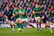 9 February 2019; Rob Kearney of Ireland makes a break during the Guinness Six Nations Rugby Championship match between Scotland and Ireland at the BT Murrayfield Stadium in Edinburgh, Scotland. Photo by Ramsey Cardy/Sportsfile