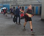 9 February 2019; Shane O'Sullivan of Ballygunner arrives before the AIB GAA Hurling All-Ireland Senior Championship semi-final match between Ballyhale Shamrocks and Ballygunner at Semple Stadium in Thurles, Tipperary. Photo by Matt Browne/Sportsfile
