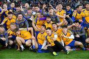 9 February 2019; Beaufort players celebrate with the cup after the AIB GAA Football All-Ireland Junior Championship Final match between Beaufort and Easkey at Croke Park in Dublin. Photo by Piaras Ó Mídheach/Sportsfile