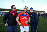9 February 2019; Éanna Burke of St Thomas' is congratulated by supporters following the AIB GAA Hurling All-Ireland Senior Championship Semi-Final match between St Thomas' and Ruairí Óg at Parnell Park in Dublin. Photo by David Fitzgerald/Sportsfile