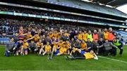 9 February 2019; The Beaufort squad celebrate after the AIB GAA Football All-Ireland Junior Championship Final match between Beaufort and Easkey at Croke Park in Dublin. Photo by Piaras Ó Mídheach/Sportsfile