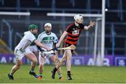 9 February 2019; Mikey Mahony of Ballygunner in action against Evan Shefflin of Ballyhale Shamrocks during the AIB GAA Hurling All-Ireland Senior Championship semi-final match between Ballyhale Shamrocks and Ballygunner at Semple Stadium in Thurles, Tipperary. Photo by Matt Browne/Sportsfile