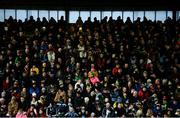 9 February 2019; Supporters in the main stand 90 minutes before throw-in for the Allianz Football League Division 1 Round 3 match between Kerry and Dublin at Austin Stack Park in Tralee, Co. Kerry. Photo by Diarmuid Greene/Sportsfile
