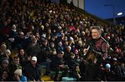 9 February 2019; Musician Liam O'Connor entertains the crowd prior to the Allianz Football League Division 1 Round 3 match between Kerry and Dublin at Austin Stack Park in Tralee, Kerry. Photo by Diarmuid Greene/Sportsfile