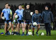 9 February 2019; Dublin manager Jim Gavin, right, watches his team warm up prior to the Allianz Football League Division 1 Round 3 match between Kerry and Dublin at Austin Stack Park in Tralee, Kerry. Photo by Diarmuid Greene/Sportsfile