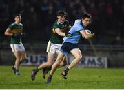 9 February 2019; Darren Gavin of Dublin in action against Diarmuid O'Connor of Kerry during the Allianz Football League Division 1 Round 3 match between Kerry and Dublin at Austin Stack Park in Tralee, Kerry. Photo by Diarmuid Greene/Sportsfile