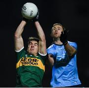 9 February 2019; Brian Ó Beaglaíoch of Kerry in action against Paul Mannion of Dublin during the Allianz Football League Division 1 Round 3 match between Kerry and Dublin at Austin Stack Park in Tralee, Kerry. Photo by Diarmuid Greene/Sportsfile
