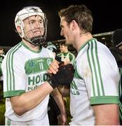 9 February 2019; TJ Reid and Colin Fennelly of Ballyhale Shamrocks after the AIB GAA Hurling All-Ireland Senior Championship semi-final match between Ballyhale Shamrocks and Ballygunner at Semple Stadium in Thurles, Tipperary. Photo by Matt Browne/Sportsfile