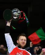9 February 2019; Kilcummin captain Brendan Kealy lifts the cup after the AIB GAA Football All-Ireland Intermediate Championship Final match between Kilcummin and Naomh Éanna at Croke Park in Dublin. Photo by Piaras Ó Mídheach/Sportsfile