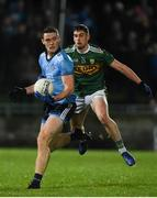 9 February 2019; Brian Fenton of Dublin in action against Paul Geaney of Kerry during the Allianz Football League Division 1 Round 3 match between Kerry and Dublin at Austin Stack Park in Tralee, Co. Kerry. Photo by Diarmuid Greene/Sportsfile