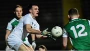 9 February 2019; Eoin Doyle of Kildare in action against Aidan Breen of Fermanagh during the Allianz Football League Division 2 Round 3 match between Fermanagh and Kildare at Brewster Park in Enniskillen, Fermanagh. Photo by Oliver McVeigh/Sportsfile