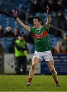 9 February 2019; Stephen Coen of Mayo reacts after his point is ruled as a wide during the Allianz Football League Division 1 Round 3 match between Mayo and Cavan at Elverys MacHale Park in Castlebar, Mayo. Photo by Seb Daly/Sportsfile